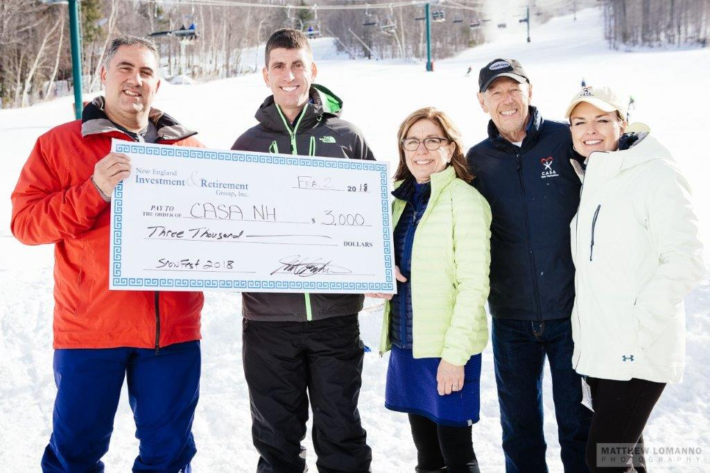 New England Investment and Retirement Group Attends CASA-NH Snowfest Fundraiser