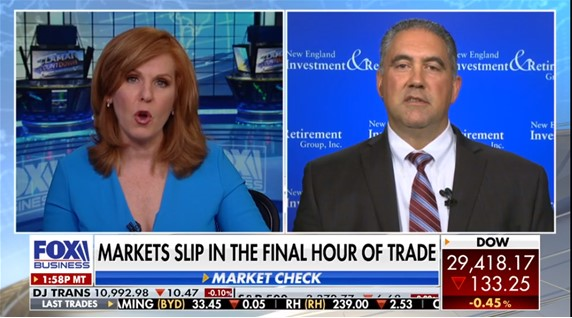 "President & Founder Nick Giacoumakis Joins Fox Business Network's ""The Claman Countdown"""