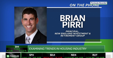 "Principal Brian Pirri Joins TD Ameritrade Network's ""Market on Close"""