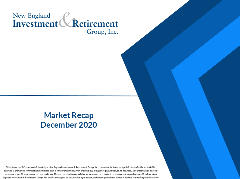 New England Investment & Retirement Group December 2020 Market Recap